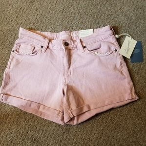 🌸Pretty in Pink Jean Shorts
